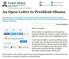 The Obama Letter
