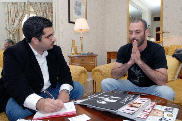 Faisal J. Abbas interviews star actor of the Kingdom Ashraf Barhoum