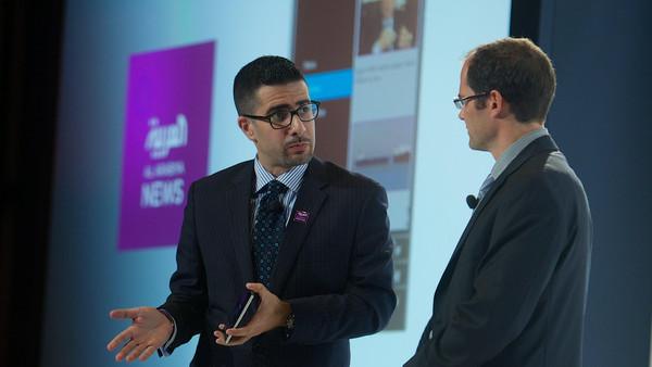 Faisal J. Abbas announces the release of the Al Arabiya BlackBerry app