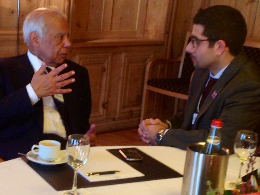 Faisal J. Abbas interviews former Egyptian PM Hazem El Beblawi