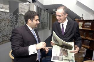 Faisal J. Abbas interviews the Editor of the London Times