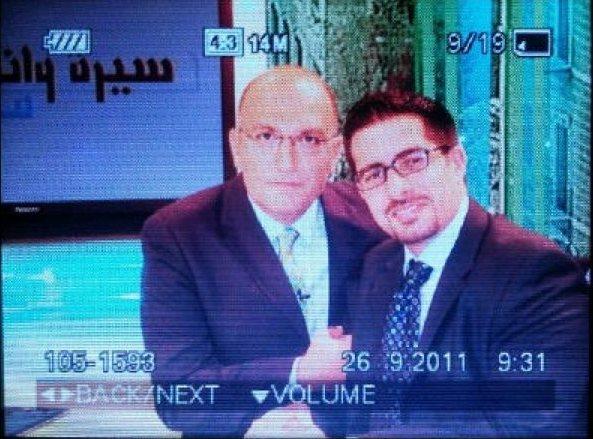 Faisal J. Abbas in an interview with Zaven Kouyoumdjian in 2012, Lebanon