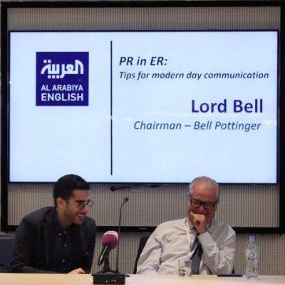 Faisal J. Abbas interviews Lord Bell
