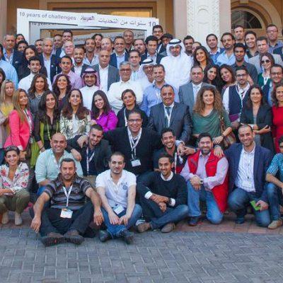 The Al Arabiya team